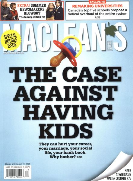 Issue: - AUG. 3rd 2009 | Maclean's