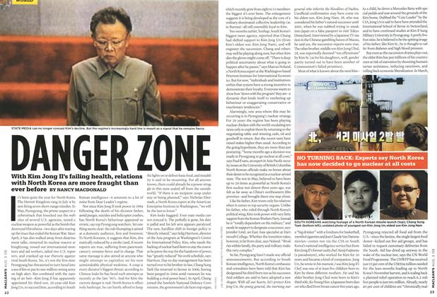 Article Preview: DANGER ZONE, AUG. 3rd 2009 2009 | Maclean's