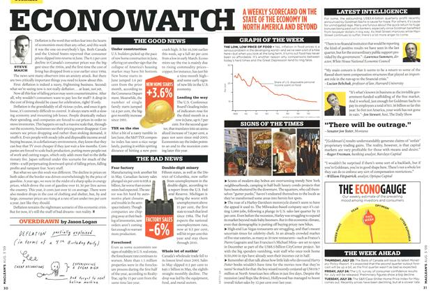 Article Preview: OVERDRAWN, AUG. 3rd 2009 2009 | Maclean's