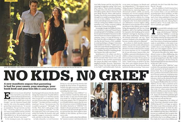 Article Preview: NO KIDS, NO GRIEF, AUG. 3rd 2009 2009 | Maclean's