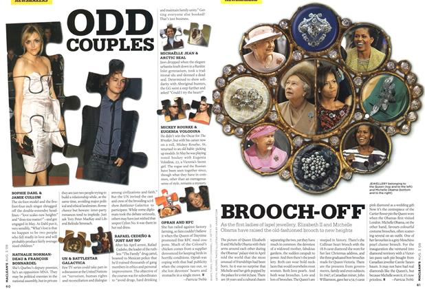 Article Preview: BROOCH-OFF, AUG. 3rd 2009 2009 | Maclean's