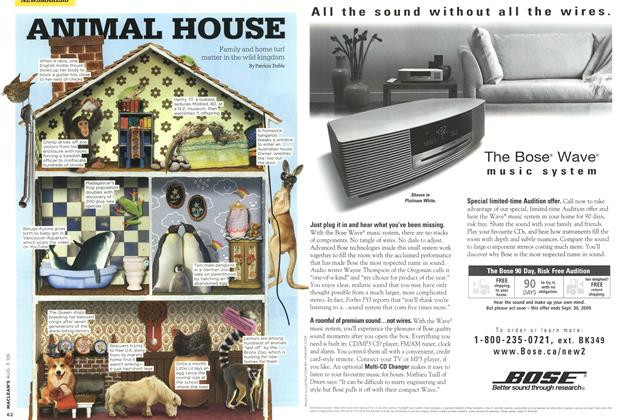 Article Preview: ANIMAL HOUSE, AUG. 3rd 2009 2009 | Maclean's