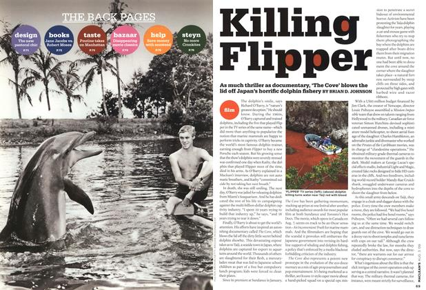 Article Preview: Killing Flipper, AUG. 3rd 2009 2009 | Maclean's