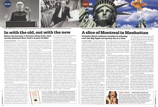 Article Preview: In with the old, out with the new, AUG. 3rd 2009 2009 | Maclean's