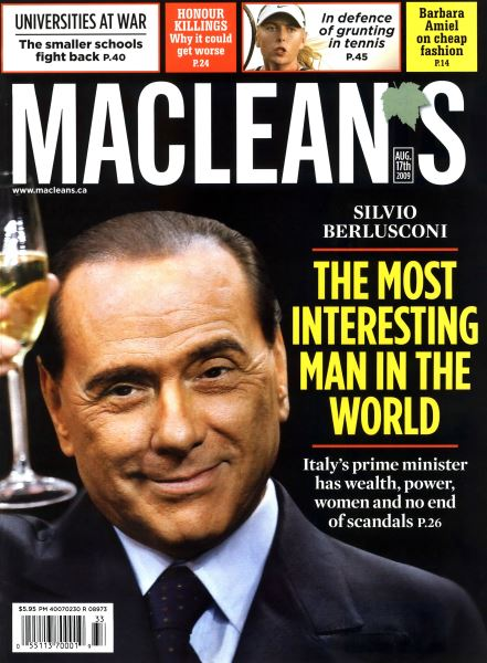 Issue: - AUG. 17th 2009 | Maclean's