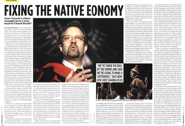 Article Preview: FIXING THE NATIVE EC DNOMY, AUG. 17th 2009 2009 | Maclean's