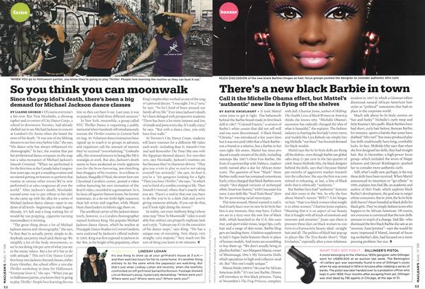 Article Preview: There's a new black Barbie in town, AUG. 17th 2009 2009 | Maclean's