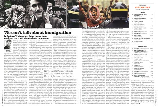 Article Preview: We can't talk about immigration, AUG. 17th 2009 2009 | Maclean's