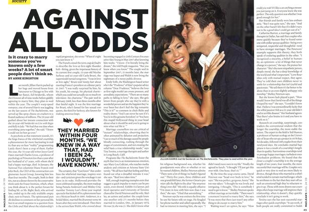Article Preview: AGAINST ALL ODDS, AUG. 24th 2009 2009 | Maclean's