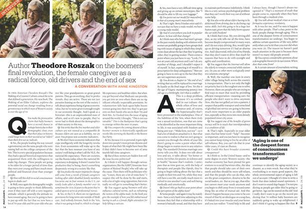 Article Preview: Theodore Roszak, AUG. 24th 2009 2009 | Maclean's