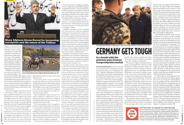 Article Preview: GERMANY GETS TOUGH, AUG. 31st 2009 2009 | Maclean's