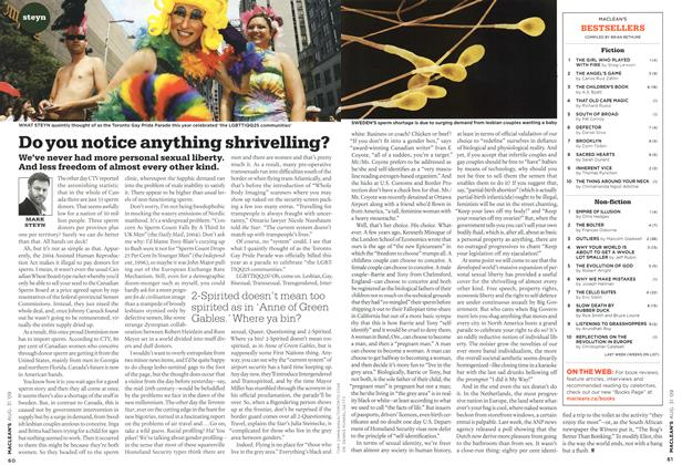 Article Preview: Do you notice anything shrivelling?, AUG. 31st 2009 2009 | Maclean's
