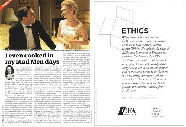 Article Preview: I even cooked in my Mad Men days, AUG. 31st 2009 2009 | Maclean's
