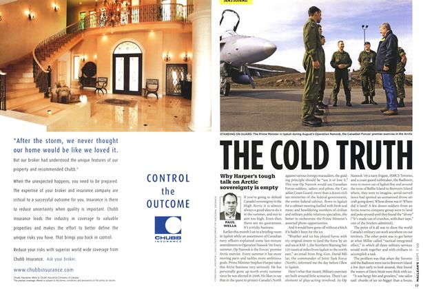 Article Preview: THE COLD TRUTH, SEPT. 7th 2009 2009 | Maclean's