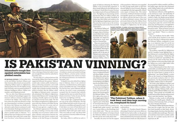 Article Preview: IS PAKISTAN WINNING?, SEPT. 7th 2009 2009 | Maclean's