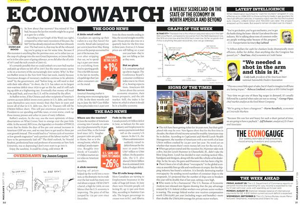 Article Preview: ECONOWATC, SEPT. 7th 2009 2009 | Maclean's