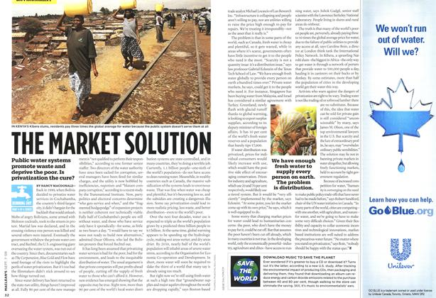 Article Preview: THE MARKET SOLUTION, SEPT. 7th 2009 2009 | Maclean's