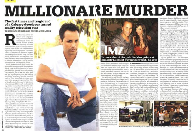 Article Preview: MILLIONAIRE MURDER, SEPT. 7th 2009 2009 | Maclean's