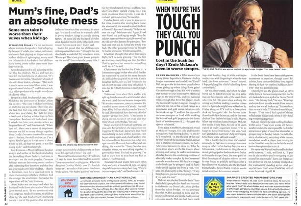 Article Preview: WHEN YOU'RE THIS TOUGH THEY CALL YOU PUNCH, SEPT. 7th 2009 2009 | Maclean's