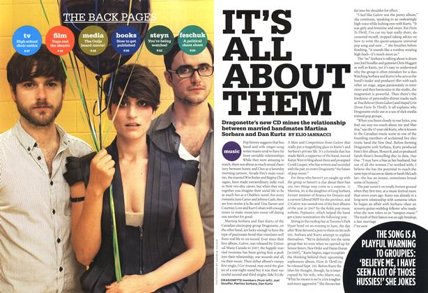 Article Preview: IT'S ALL ABOUT THEM, SEPT. 7th 2009 2009 | Maclean's