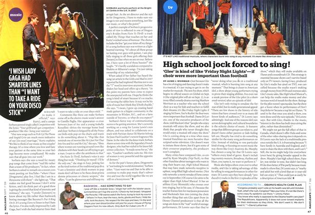 Article Preview: High school jock forced to sing!, SEPT. 7th 2009 2009 | Maclean's