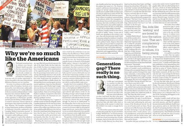 Article Preview: Generation gap? There really is no such thing., SEPT. 7th 2009 2009 | Maclean's