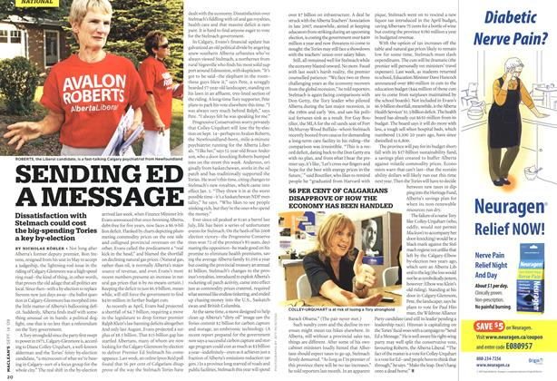 Article Preview: SENDING ED A MESSAGE, SEPT. 14th 2009 2009 | Maclean's