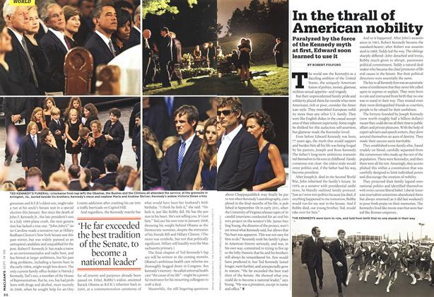 Article Preview: In the thrall of American nobility, SEPT. 14th 2009 2009 | Maclean's