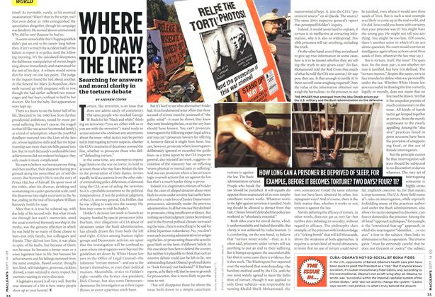 Article Preview: WHERE TO DRAW THE LINE?, SEPT. 14th 2009 2009 | Maclean's