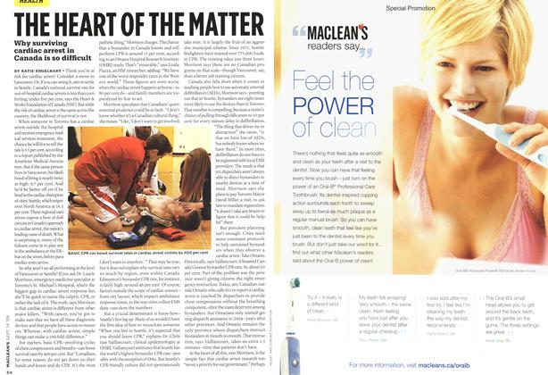 Article Preview: THE HEART OF THE MATTER, SEPT. 14th 2009 2009 | Maclean's