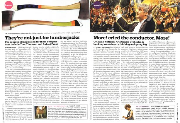 Article Preview: They're not just for lumberjacks, SEPT. 14th 2009 2009 | Maclean's