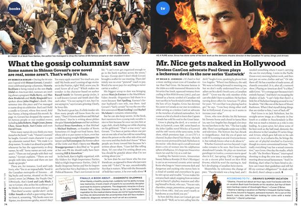 Article Preview: What the gossip columnist saw, SEPT. 14th 2009 2009 | Maclean's