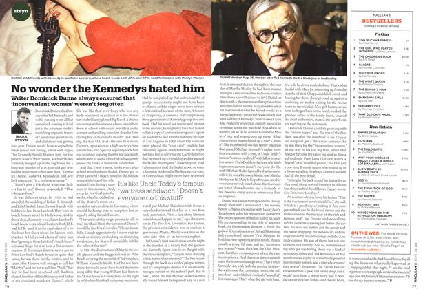 Article Preview: No wonder the Kennedys hated him, SEPT. 14th 2009 2009 | Maclean's