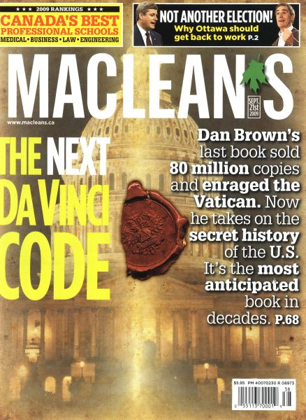 Issue: - SEPT. 21st 2009 | Maclean's