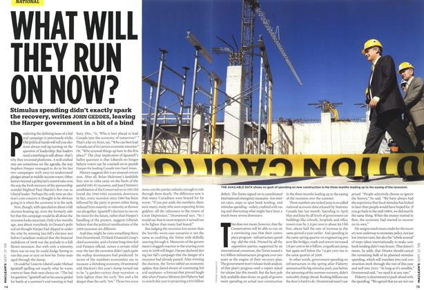 Article Preview: WHAT WILL THEY RUN ON NOW?, SEPT. 21st 2009 2009 | Maclean's