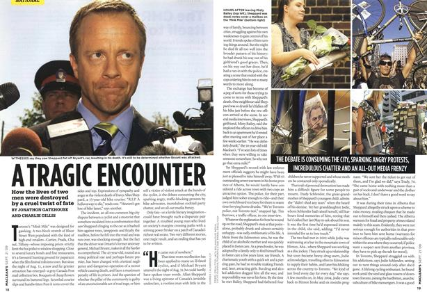 Article Preview: ATRAGIC ENCOUNTER, SEPT. 21st 2009 2009 | Maclean's