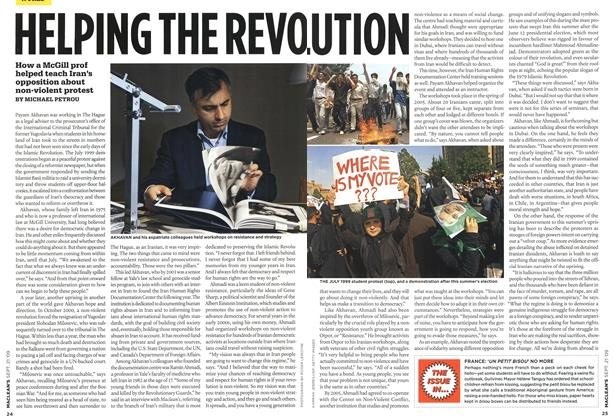 Article Preview: HELPING THE REVOLUTION, SEPT. 21st 2009 2009 | Maclean's