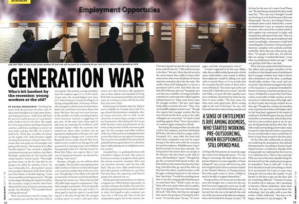 Article Preview: GENERATION WAR, SEPT. 21st 2009 2009 | Maclean's