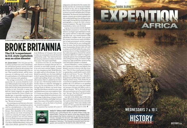 Article Preview: BROKE BRITANNIA, SEPT. 21st 2009 2009 | Maclean's