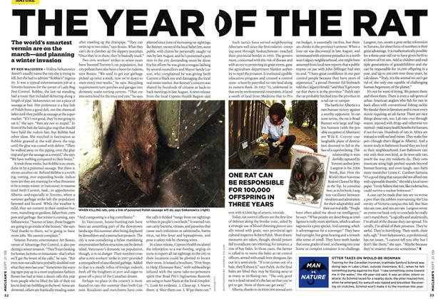 Article Preview: THE YEAR OF THE RAT, SEPT. 21st 2009 2009 | Maclean's