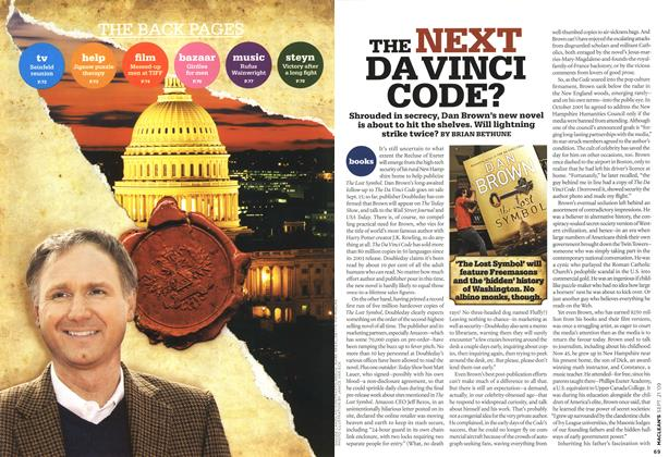 Article Preview: THE NEXT DA VINCI CODE?, SEPT. 21st 2009 2009 | Maclean's