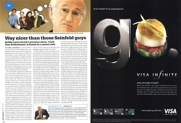 Article Preview: Way nicer than those Seinfeld guys, SEPT. 21st 2009 2009 | Maclean's