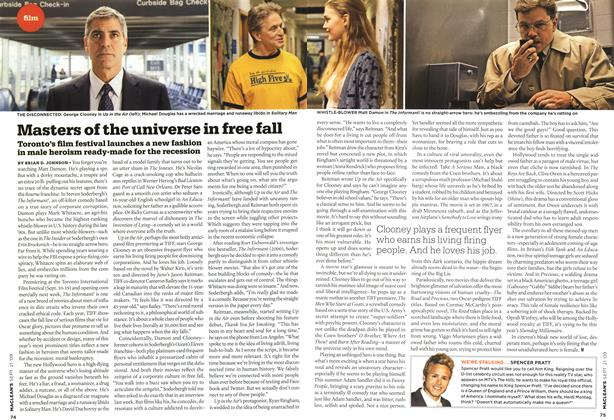 Article Preview: Masters of the universe in free fall, SEPT. 21st 2009 2009 | Maclean's