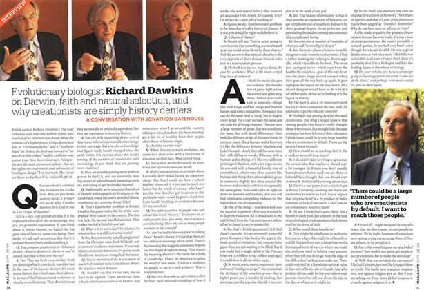Article Preview: INTERVIEW, SEPT. 28th 2009 2009 | Maclean's