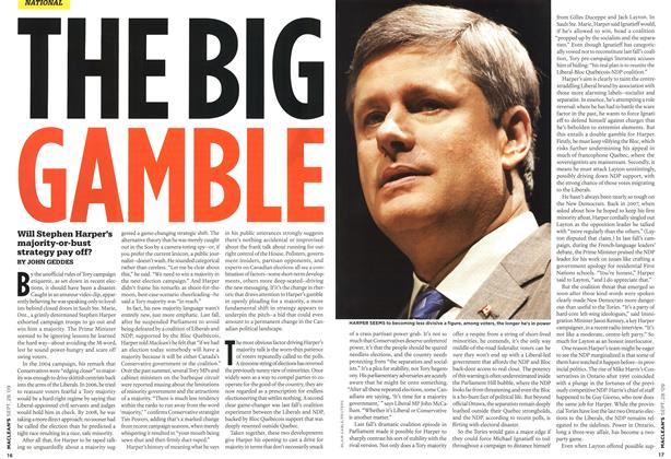 Article Preview: THE BIG GAMBLE, SEPT. 28th 2009 2009 | Maclean's