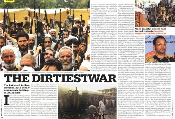Article Preview: THE DIRTIEST WAR, SEPT. 28th 2009 2009 | Maclean's