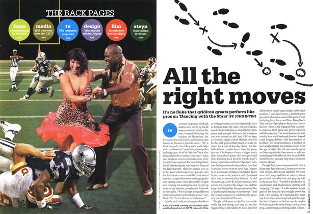 Article Preview: All the right moves, SEPT. 28th 2009 2009   Maclean's