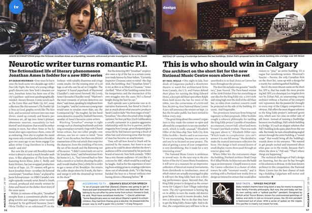 Article Preview: Neurotic writer turns romantic P.I., SEPT. 28th 2009 2009 | Maclean's