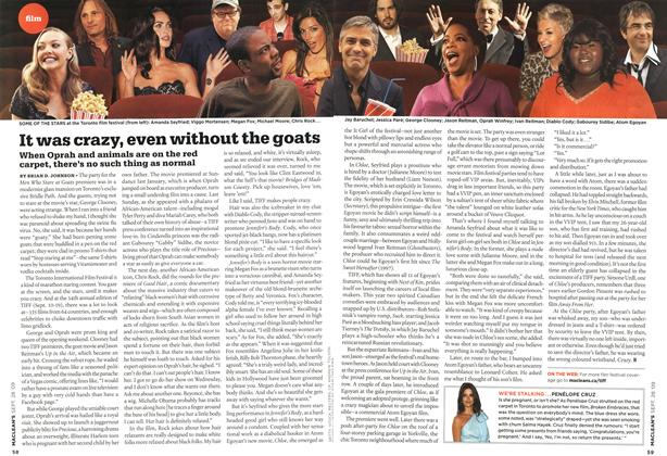 Article Preview: It was crazy, even without the goats, SEPT. 28th 2009 2009 | Maclean's