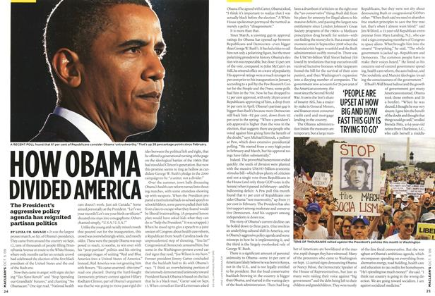 Article Preview: HOW OBAMA DIVDED AMERICA, OCT. 5th 2009 2009 | Maclean's